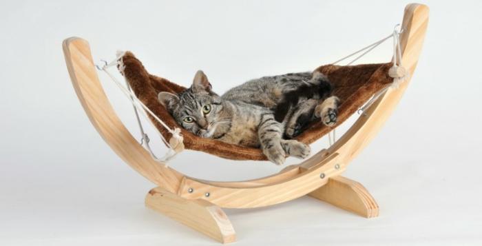 hamac pour chat. Black Bedroom Furniture Sets. Home Design Ideas