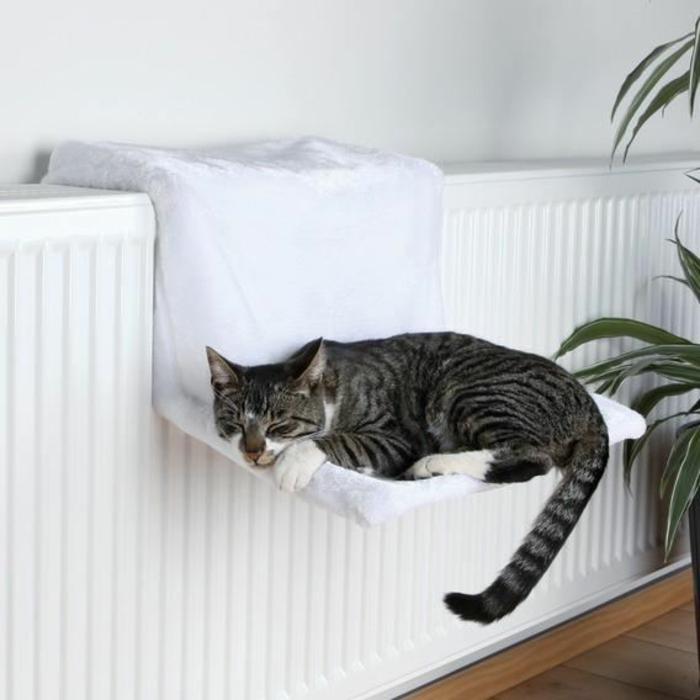 Un hamac pour chat va donner grand confort votre animal - Hamac pas cher sur pied ...