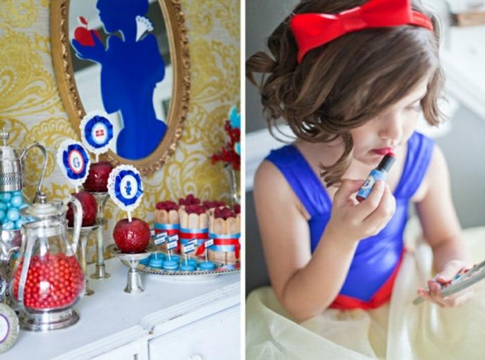 la-déco-festive-idée-comment-faire-à-soi-même-anniversaire-blanche-neige-enfant