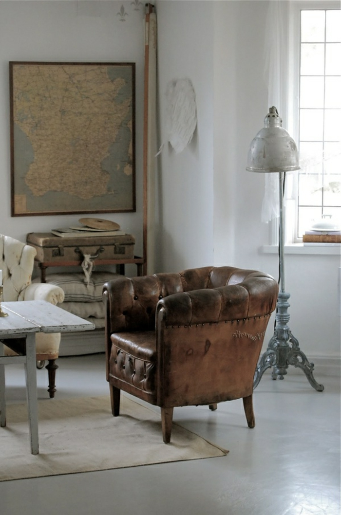 le-plus-beau-fauteuil-club-cuir-vieilli-pour-le-salon-moderne
