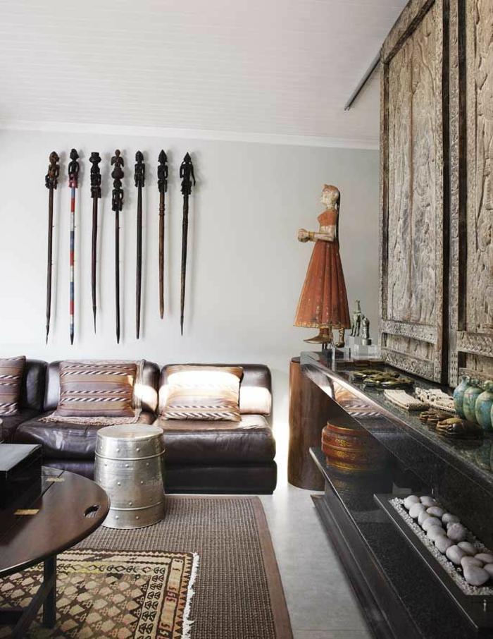 Le canap marocain qui va bien avec votre salon - Comment ranger son salon ...
