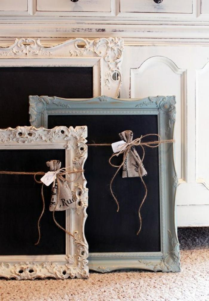 tableau noir ardoise cuisine noir sur le mur dans cuisine. Black Bedroom Furniture Sets. Home Design Ideas