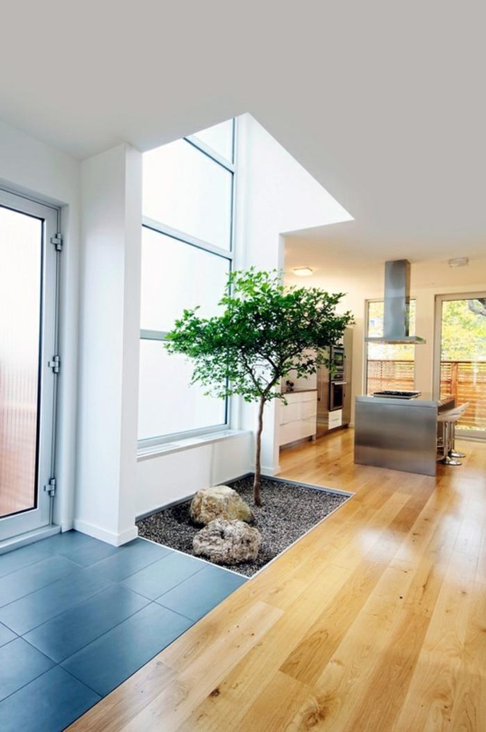 Model Ede Salon Moderne : maisonmodernedecorationchinoisecarrelagegrisparquetteclair
