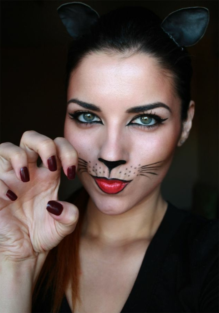 Maquillage De Chat Simple