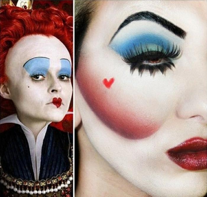 maquillage-halloween-homme-idées-inspiration-2015-pop-art-populaire-alice-dans-le-pays-de-merveilles-resized