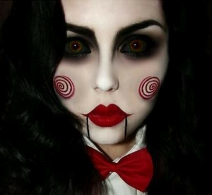 Maquillage Pour Halloween Femme Monstreux Cool Resized Pictures