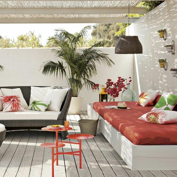 Choisir un beau matelas pour banquette id es d co en 45 - Idee deco terrasse exterieure ...