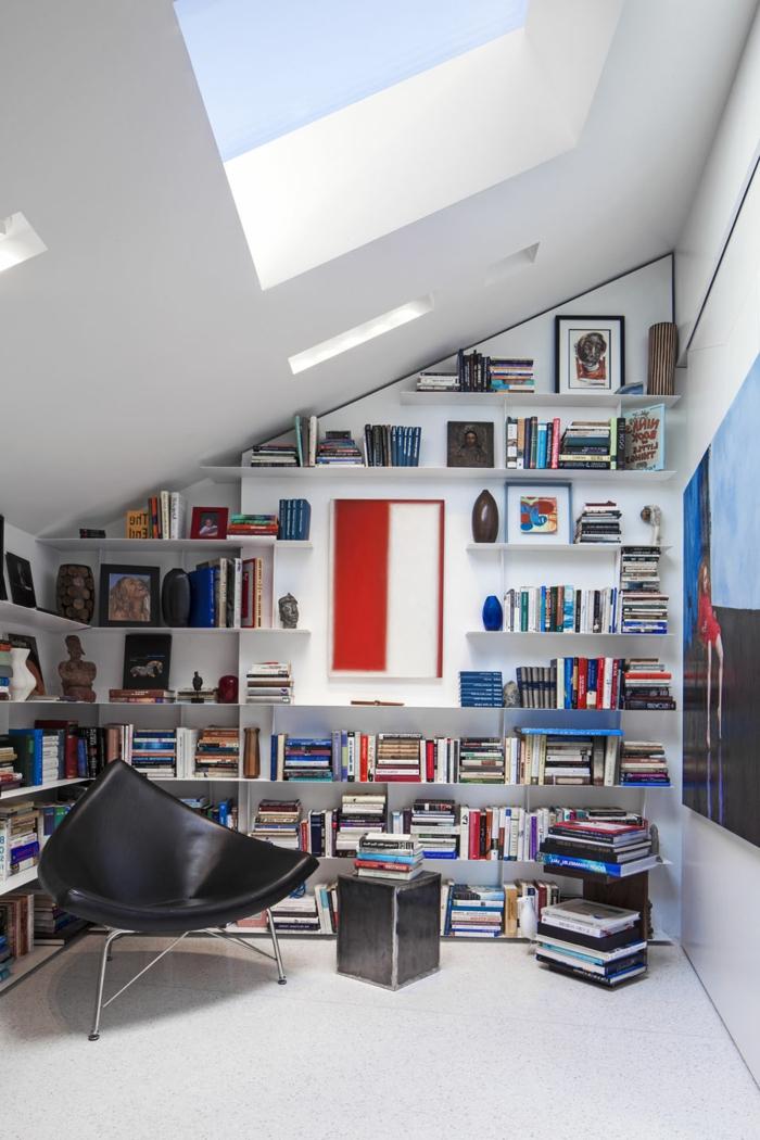 Les meubles sous pente solutions cr atives - Fabriquer un meuble sous escalier ...