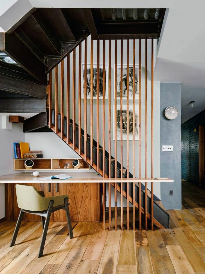 meubles-sous-pente-bureau-de-travail-sous-escalier