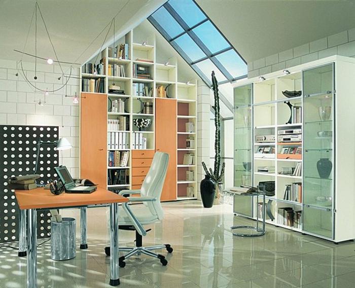 meubles-sous-pente-casiers-ouverts-sous-toit-verrière-de-toit