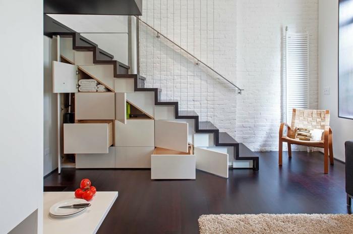 meubles-sous-pente-des-unités-de-rangement-sous-escalier-loft