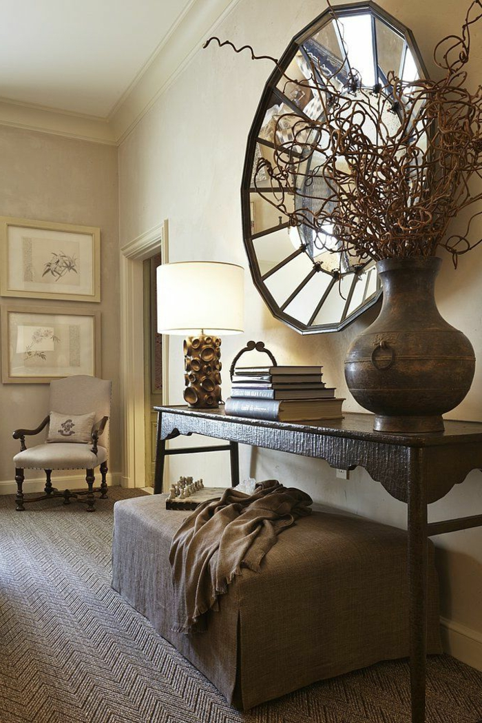 le miroir d coratif en 50 photos magnifiques. Black Bedroom Furniture Sets. Home Design Ideas