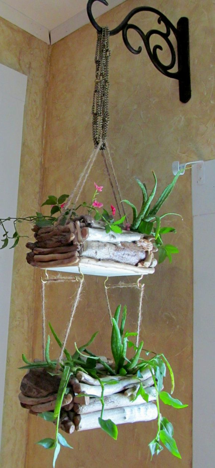 objet-en-bois-flotté-cadre-en-bois-flotté-decoration-nature-mobile-bois-flotté
