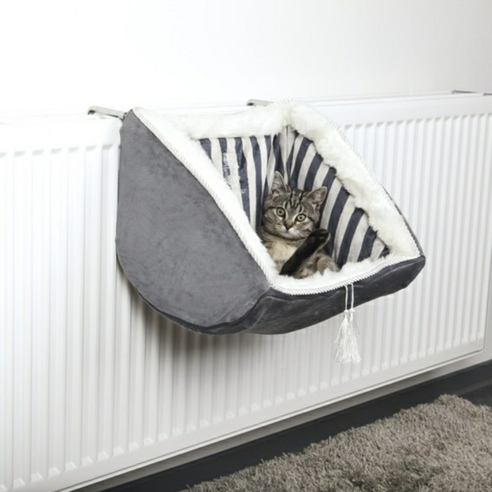 Un hamac pour chat va donner grand confort votre animal - Hamac avec support pas cher ...