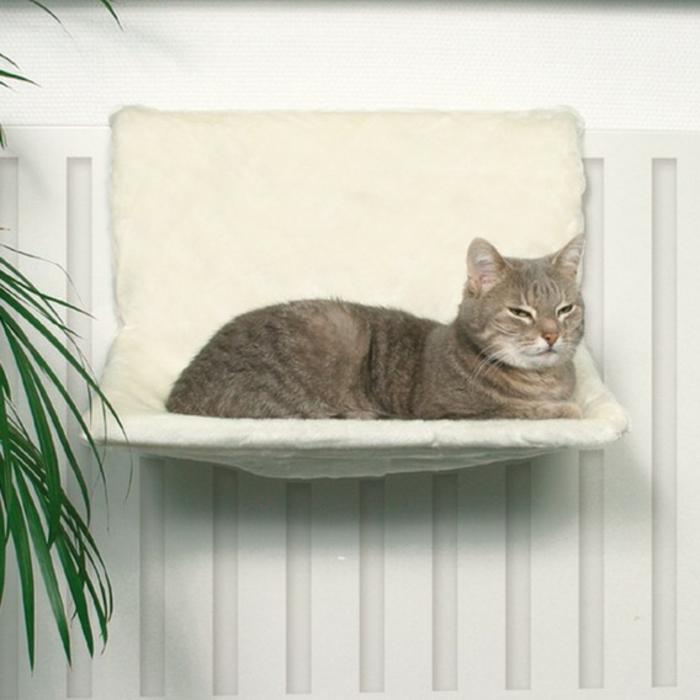 Un hamac pour chat va donner grand confort votre animal - Panier pour chat design ...