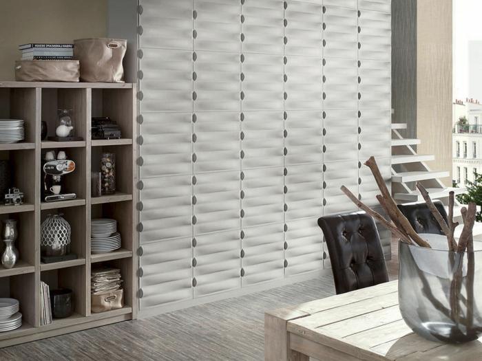 panneau-mural-3d-étagère-en-bois