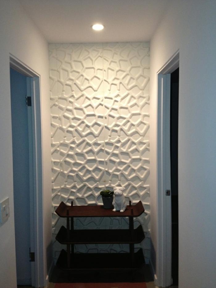 panneau-mural-3d-couloir-avec-panneau-3d