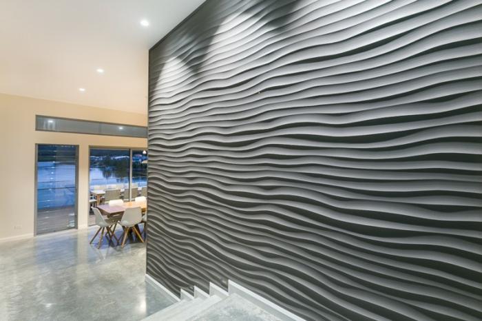 beautiful decoration murale 3d contemporary joshkrajcik. Black Bedroom Furniture Sets. Home Design Ideas