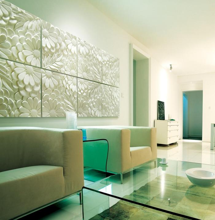 Le panneau mural 3d un luxe facile avoir - Panneaux muraux decoratifs ...
