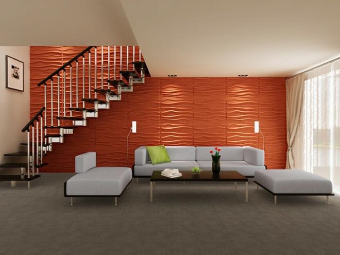 panneau mural parement design accueil design et mobilier. Black Bedroom Furniture Sets. Home Design Ideas