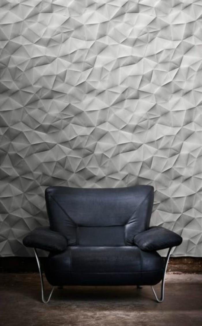 le panneau mural 3d un luxe facile avoir. Black Bedroom Furniture Sets. Home Design Ideas