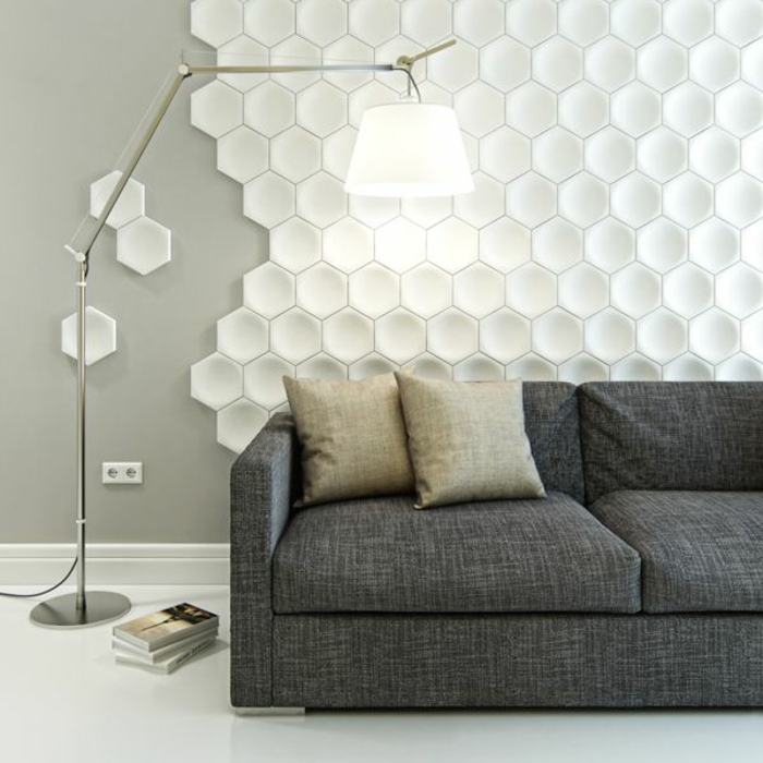 le panneau mural 3d un luxe facile avoir. Black Bedroom Furniture Sets. Home Design Ideas
