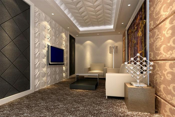 panneau-mural-3d-salon-en-beige-extraordinaire