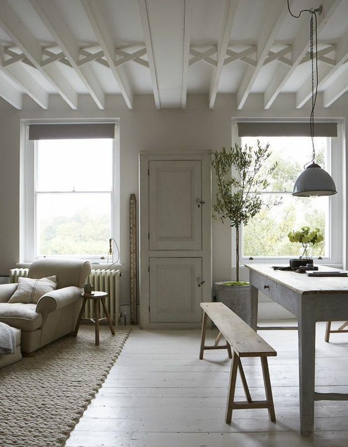 parquet-blanc-beau-plancher-blanchi-en-bois