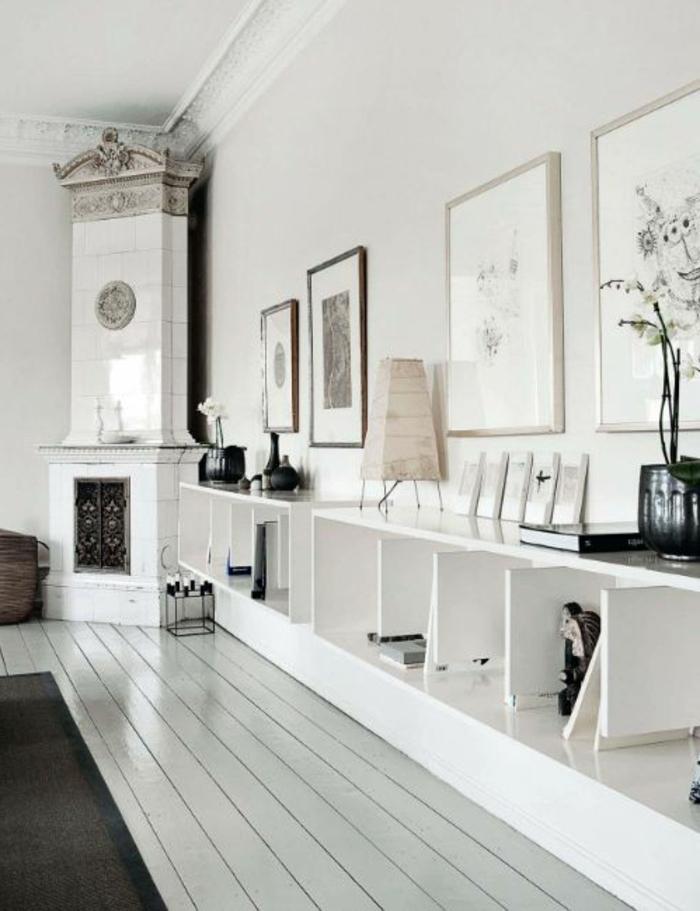 parquet-blanc-chambre-blanche-sol-en-bois-peint-blanc