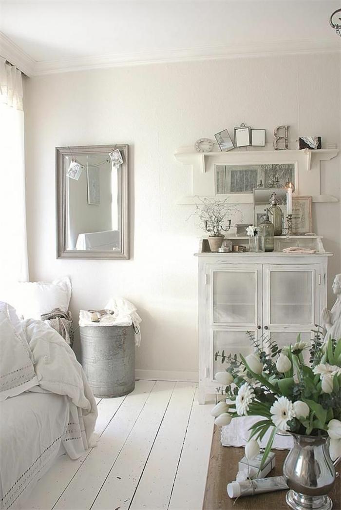 parquet-blanc-intérieur-rustique-sobre-avec-un-sol-blanc