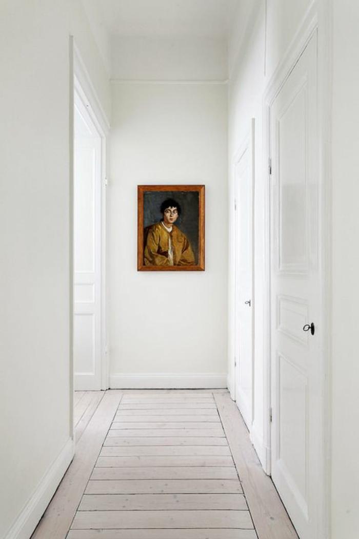 le parquet blanc une jolie tendance d co. Black Bedroom Furniture Sets. Home Design Ideas