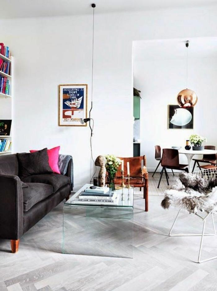 parquet-blanc-salle-de-séjour-avec-parquet-clair-chevron