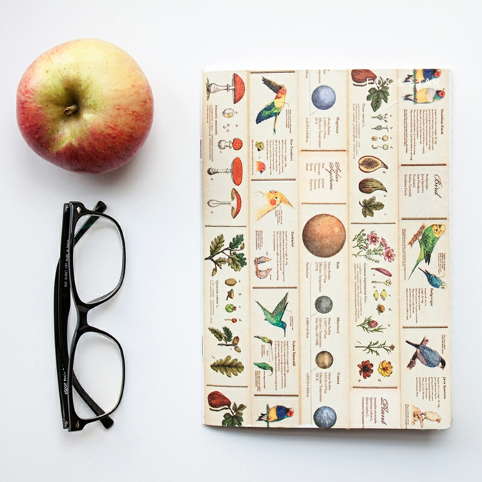 personnalisation-cahier-cool-idée-original-cahier-personnalisable-pomme
