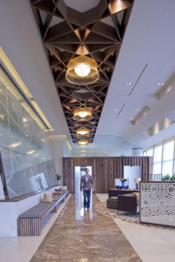 plafond-suspendu-placo-quel-plafond-pour-un-resto-moderne-architecture-moderne
