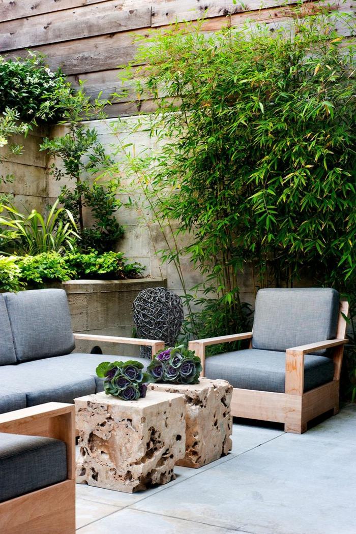 planter-des-bambous-extérieur-moderne-tables-basses-originales
