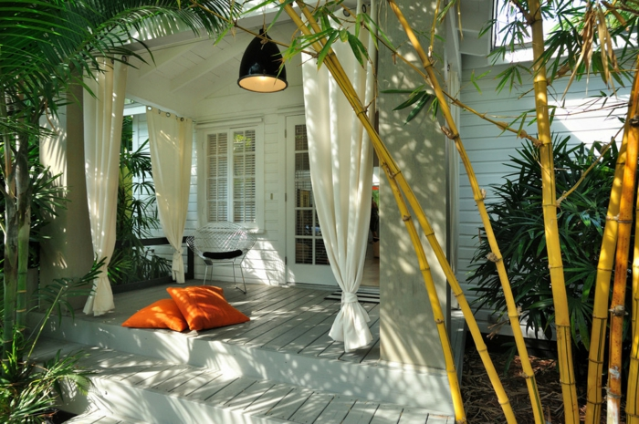 planter-des-bambous-idée-déco-pour-le-patio-moderne