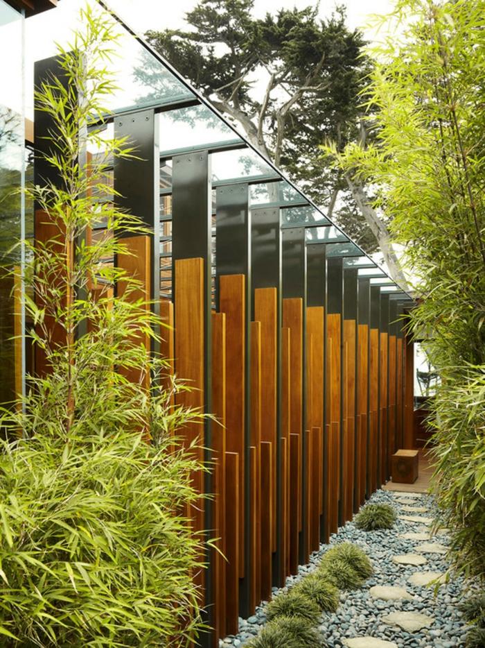 planter-des-bambous-idées-uniques-pour-l'extérieur-moderne
