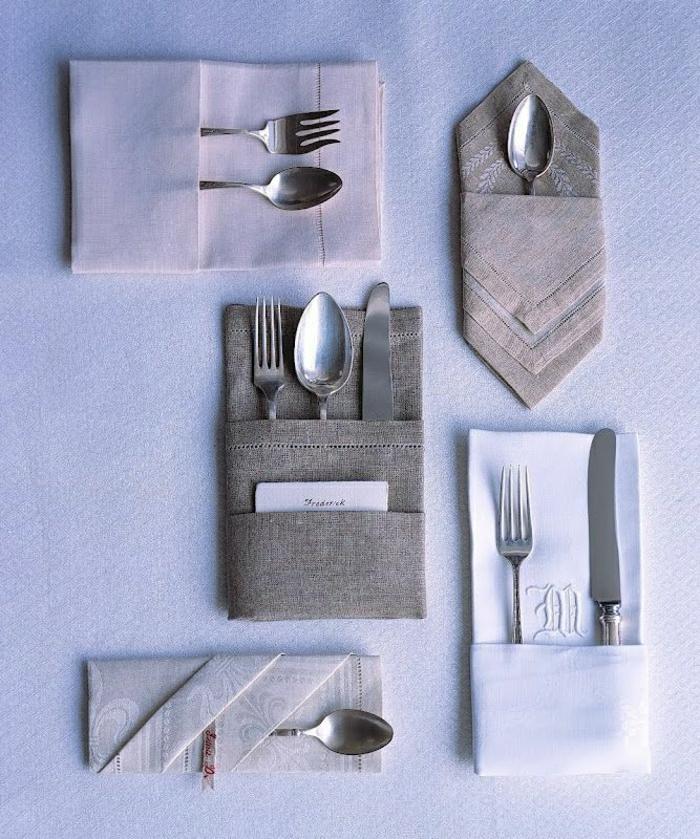 pliage-de-serviette-en-tissu-blanc-originale-variante-pour-pliage-de-serviette-elegant