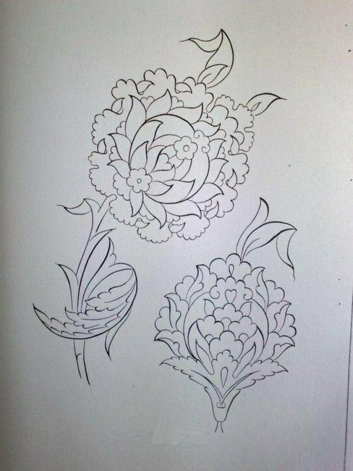 pochoir-oriental-le-pochoir-peinture-déco-mur-idées-fleurs