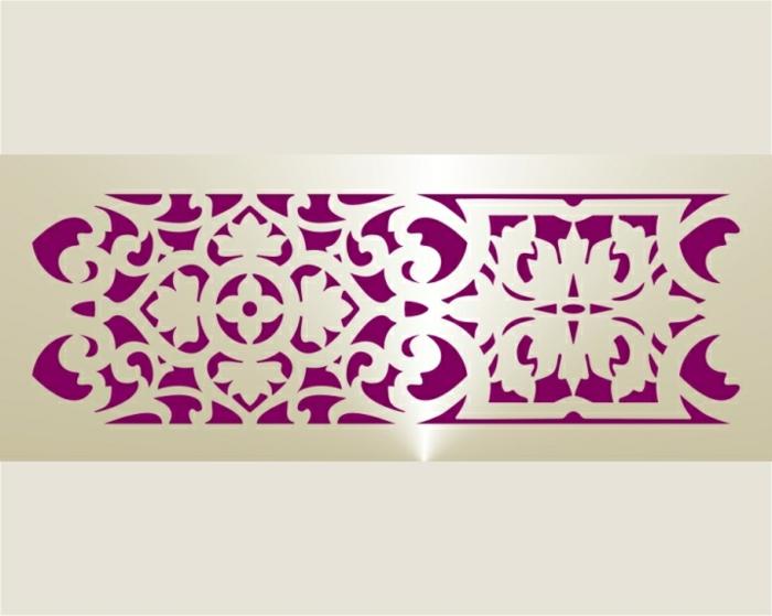 Pochoir Oriental Pochoir Papillon Décoration Chambre Sur Mur