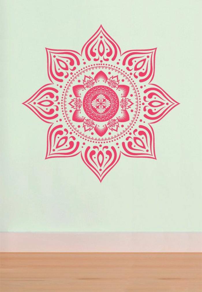 Le pochoir oriental style pour vos murs et pour vos - Dessin oriental a imprimer ...