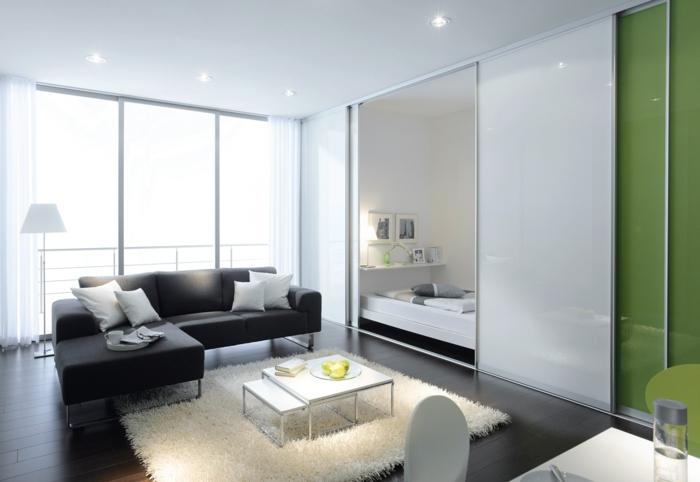 porte-coulissante-lapeyre-separateur-de-piece-aménagement-canapé-angle