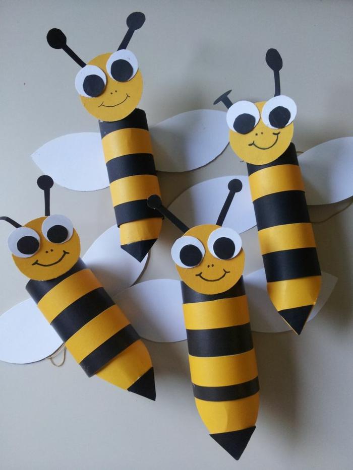 recycler-le-rouleau-de-papier-toilette-des-abeilles-super-astucieuses