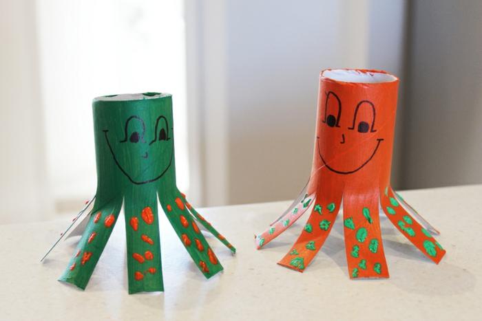 recycler-le-rouleau-de-papier-toilette-idées-mignonnes-handcraft