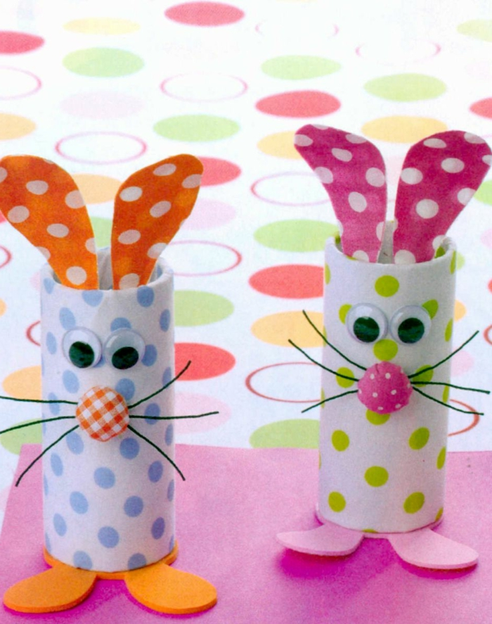 recycler-le-rouleau-de-papier-toilette-lapins-adorables