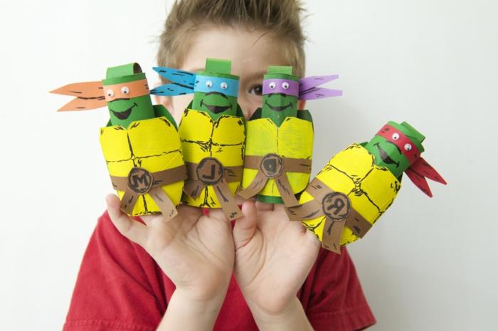 recycler-le-rouleau-de-papier-toilette-les-tortues-ninja