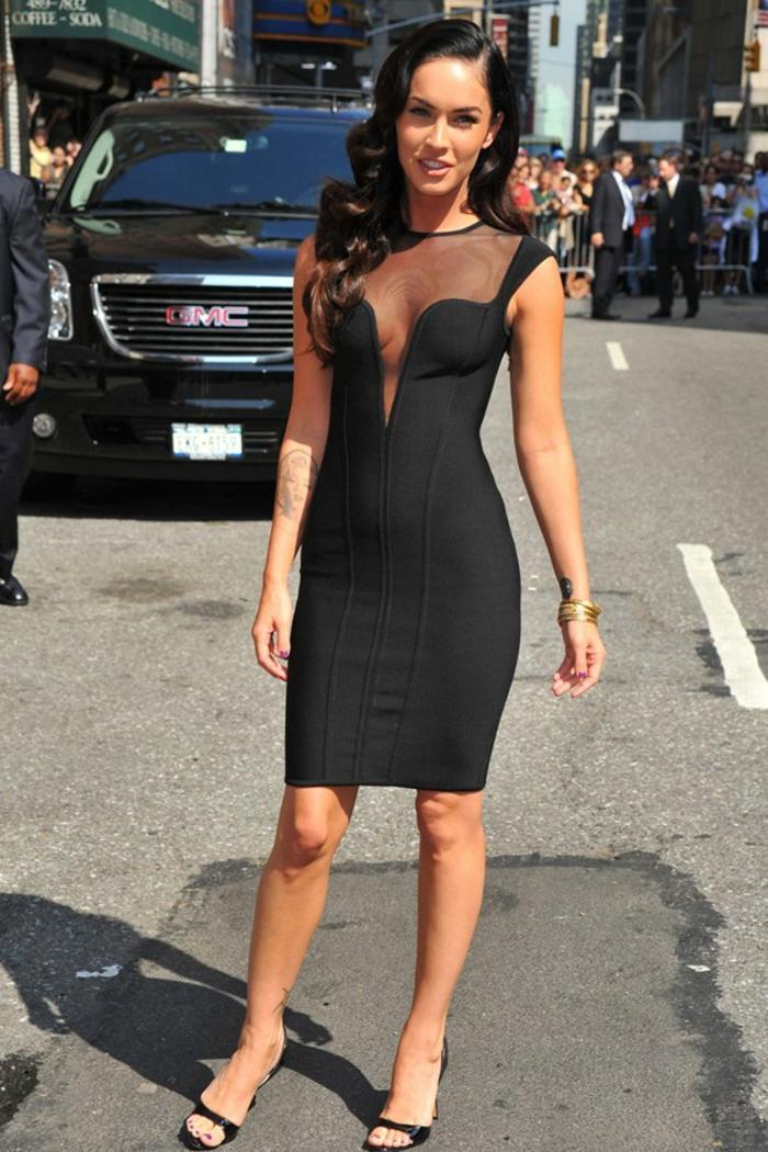 La meilleure robe habill e que vous pouvez choisir for Megan fox petite