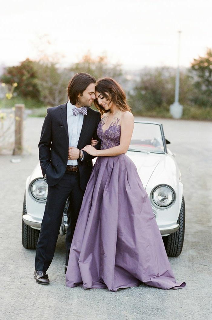 robe-de-fiancaille-pas-cher-moderne-et-belle-chaussures-idée-robe-de-promo