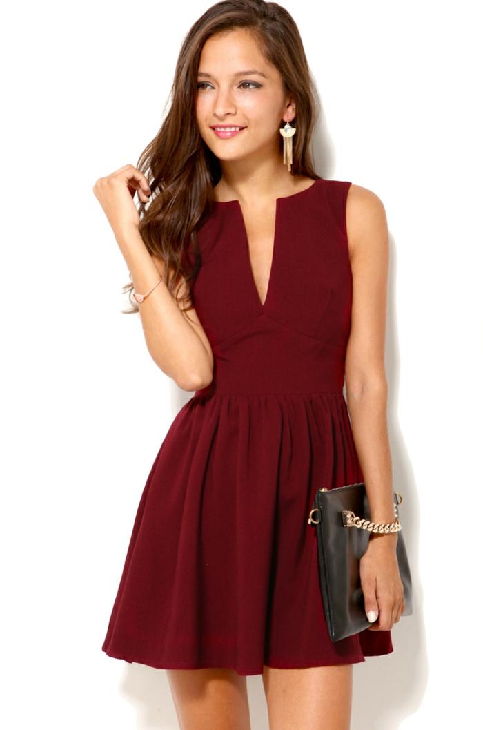 robe-de-soirée-belle-chiquerobe-élégante-habillée-rouge-courte-resized