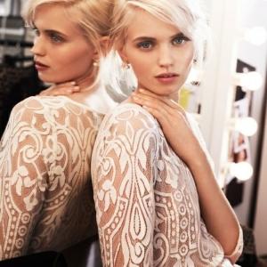 70 idées avec la robe blanche dentelle en tendance!